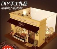 Music box diy wood dollhouse music box birthday gift diy gift girls boy
