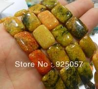 13x18mm Orange Turkey Turquoise Gem Loose Bead 15''TY613  Fashion jewelry
