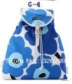 2013 Marimekko new products backpack travel bag 100%cotton printing canvas