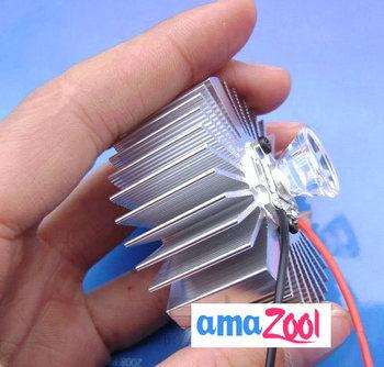 DIY 12v Q5 CREE LED w/Driver HeatSink 12V