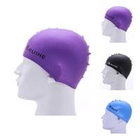 Waterproof swimming caps protect ears comfortable swimming cap for long hair