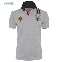 H5099A free shipping 2013 New Arrival Summer Men's brand designer Polo Cotton T-Shirts Polo Shirts/men's t-shirts