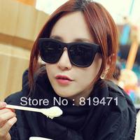 Freeshipping Fashion vintage sunglasses star style sunglasses male female big frame glasses