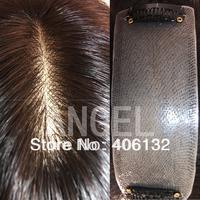 Scalp v needle scalp hair,extensions,  Seamless needle top real hair,brazilian virgin hair extensions,Silk top base hair piece