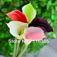 70cm Length Real Touch Calla Lily Wedding Flower Party Decorative Flower Free Shipping
