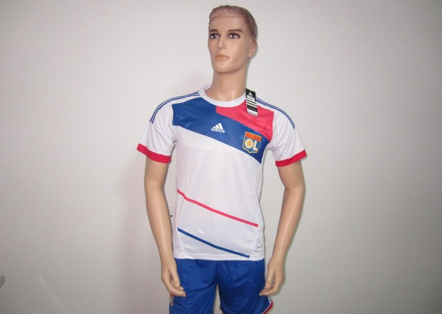 Olympique Lyon Home Jersey new football jackets, suits(China (Mainland))