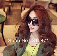 Free Shipping 2013 female fashion big box sunglasses female fashion vintage sunglasses female star style sunglasses