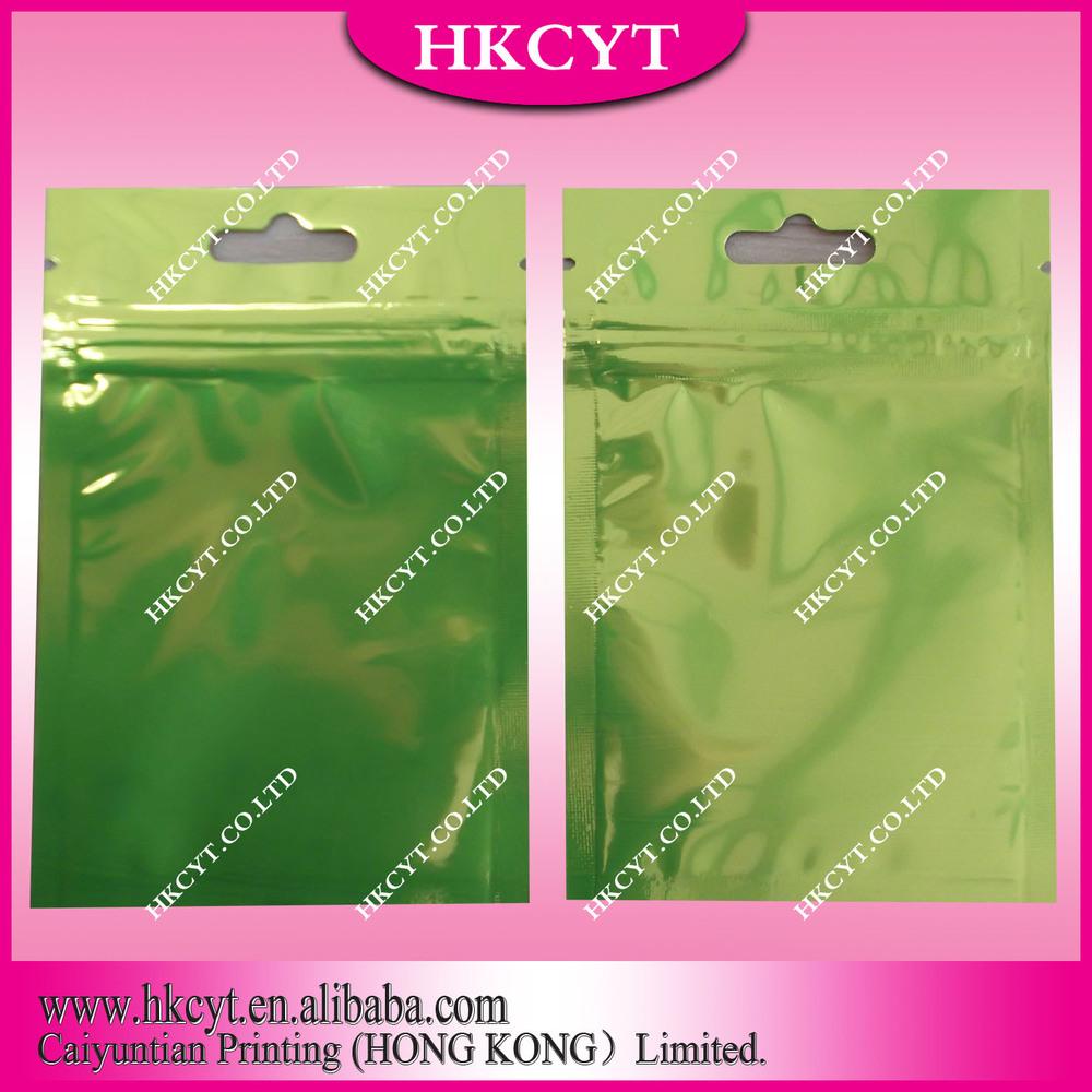 Resealable Ziplock Bag In Red/Green/Blue/Yellow/White(Hong Kong)