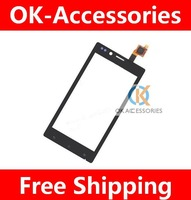 Over 5PCS US $6/Piece Touch Screen Digitizer For Sony Xperia J ST26i ST26 1PCS / Lot Free Shipping