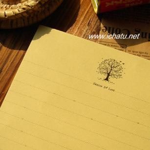 Free shipping inpaper Season of Love 40sheets/set letter pads stationery(China (Mainland))