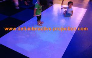 Magic Interactive floor system for advertising,play games with low price