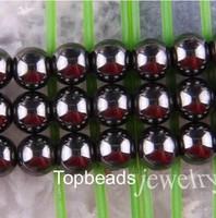 Free Shipping 6mm Black Hematite Beads, Shamballa Findings