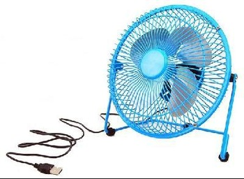 Notebook Laptop Computer Portable Super Mute PC USB Cooler Cooling Desk Mini Fan 6 inch