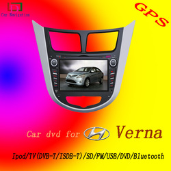 Freeshipping 1 Din Can DVD Radio GPS Player for Hyundai VERNA /New accent with BT RDS Video FM/AM Bluetooth Digtal TV !!(China (Mainland))