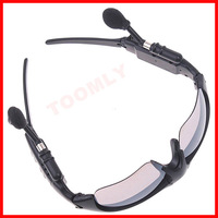 Black Bluetooth Sunglasses Headset Wireless headphone Earphone Bluetooth-New