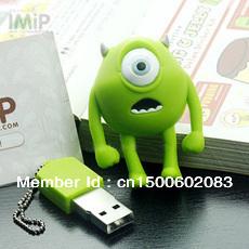 free shipping gift star wars one eye monster  Cartoon Design 8GB 16GB 32GB High Speed USB Flash Drive Stick Memory U-Disk