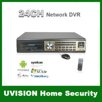 HD 24CH Realtime H.264 Security CCTV Network Standalone DVR Surveillance Mobile View PTZ Control 2CH Alarm Output free shipping
