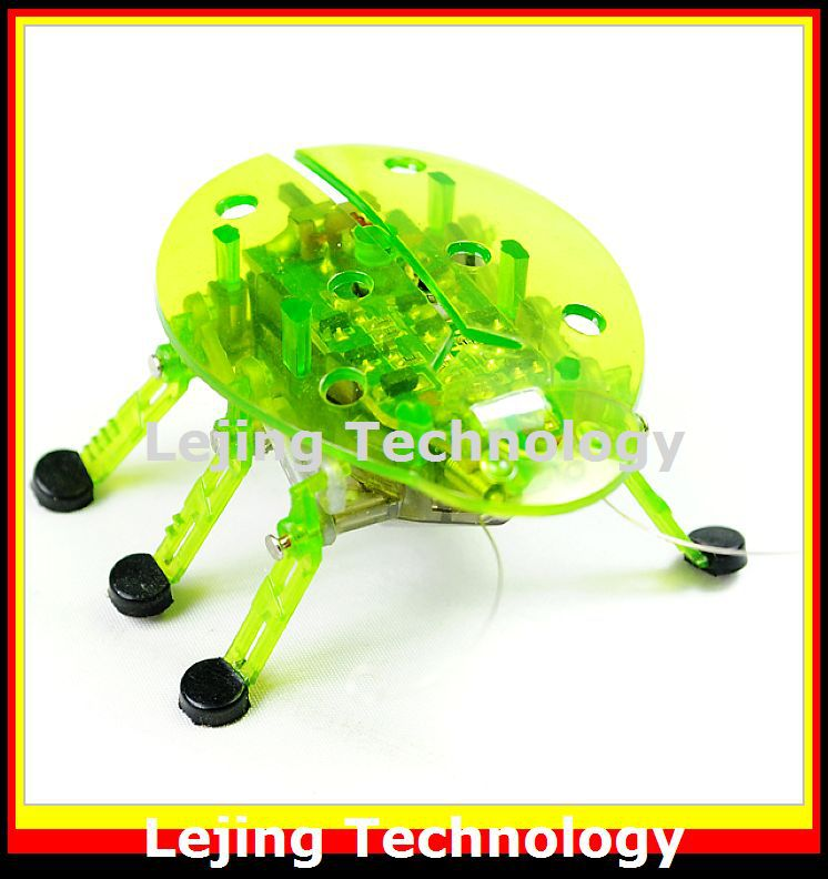 Intelligent Micro Robotic Creature Machine Beetle Insects Electronic Toy toys for kids Free shipping 1 piece(China (Mainland))