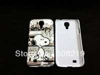 Free shipping,2pcs/lot  Lovely Snoopy Cartoon hard back cover case for Samsung Galaxy SIIII S4 i9500