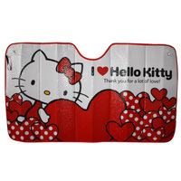 NEW Hello Kitty Car Windshield / tonneau heat Sun Shade 1300*700mm