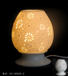 freeshipping Delicate ceramic electric aromatherapy lamps rich gift the blossom love lamp aromatherapy furnace High-end quality(China (Mainland))