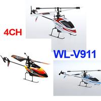 Hot Sale Toys Waltoys V911 4CH 2.4GHz Mini Radio Single Propeller RC Helicopter Gyro V911 RTF 3 colors