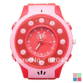 Hottest New Multifunctional Children's Silicone Watch With Watch Mobile Phone C5