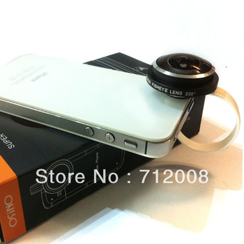 Free Shipping Fish eye len Highly Recommended!!!Universal 235 Circle Clip Fisheye Fish Eye Camera Lens For Cell Phone OS-SF118