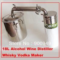 18L Alcohol Wine Distiller Whisky Vodka Maker Home Brew