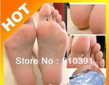 Freeship/UK,Magic Milk bamboo vinegar foot mask,ExfoliatingTendering feet mask sox remove dead skin as beauty foot care product