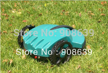 100m Virtual Wire The Cheapest  Robot Grass Cutter / Auto Lawn Mower+Lead-acid Battery