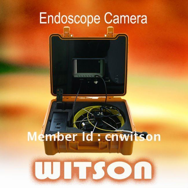 WITSON 20M REAL COLOR SEWER PIPE VIDEO INSPECTION CAMERA SYSTEM BRAND NEW(China (Mainland))