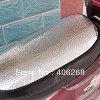 free shipping wholesale cheap!!! Motorcycle electric bicycle sun cushion reflectorised mat sunscreen  Heat shield