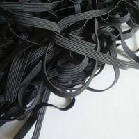 0.5cm width ,black ,elastic band,elastic webbing, MOQ is 100M/roll,FREE SHIPPING
