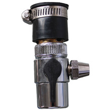 "water dispenser/connector accessory,1/2'' shift 3/8"", single switching valve ,for PE tube/pipe, great quality,free shipping(China (Mainland))"