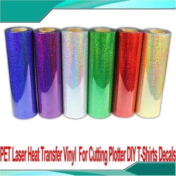 5 Yard PET Laser Heat Transfer Vinyl Film For Cutter Plotter Heat Press Transfer