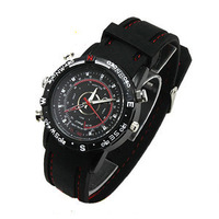 New Spy Watch Video Recorder 8GB Hidden Camera DVR Waterproof Camcorder Leather