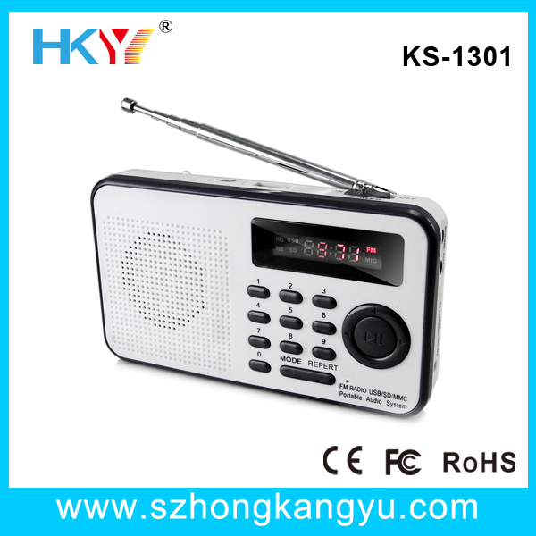 FM radio speaker,fm radio usb sd card speaker,best mini digital FM radio speaker/mp3 radio speaker(China (Mainland))