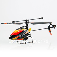 New WL Outdoor V911 4 Channel 2.4GHz Remote Control RC Single Blade Gyro Propeller Helicopter Orange Blue Red