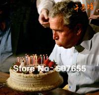 600 Pcs/lot (10pcs/pack) Mini Magic Relighting Birthday Wedding Candles Party Gag Joke Making April Fool Free Shipping