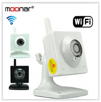IR LED Night Vision  IP Camera Network Webcam Dual Way Intercom Wireless Wifi Intercom Cute IP Camera DA0096