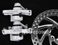 Cheapest TEKTRO IO alloy Wire mechanical mountain bike brake sets white bicycle brake sets system Free shipping