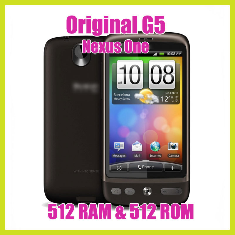3.7&#39;&#39;TouchScreen Unlocked Original Nexus One G5 Android 3G 5MP GPS WIFI 512M Ram 512M Rom Mobile Phone Google(China (Mainland))