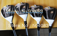 2013 New golf Clubs RB Hybrids Woods,17.19.22.24loft(4pc)Rocket Fuel graphite shaft Free Shipping