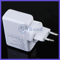 100pcs(50sets)/lot For iPhone iPad touch Samsung HTC mp3 mp4 4 Port USB AC Adapter 4 Plugs Wall Charger Fast Free shipping