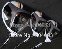 2013 New R-BZ stage2 woods set(3pcs)  Wood #1 Driver,#3and #5 Wood Regular/Stiff shafts golf clubs Free Shipping
