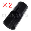 freeshipping 2*CLARINT BLACK NEW PLASTIC MOUTHPIECE CAP CLARINET PARTS ,2PCS