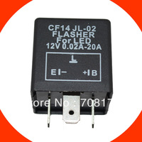 3pins CF14 LED flasher relay for led car light