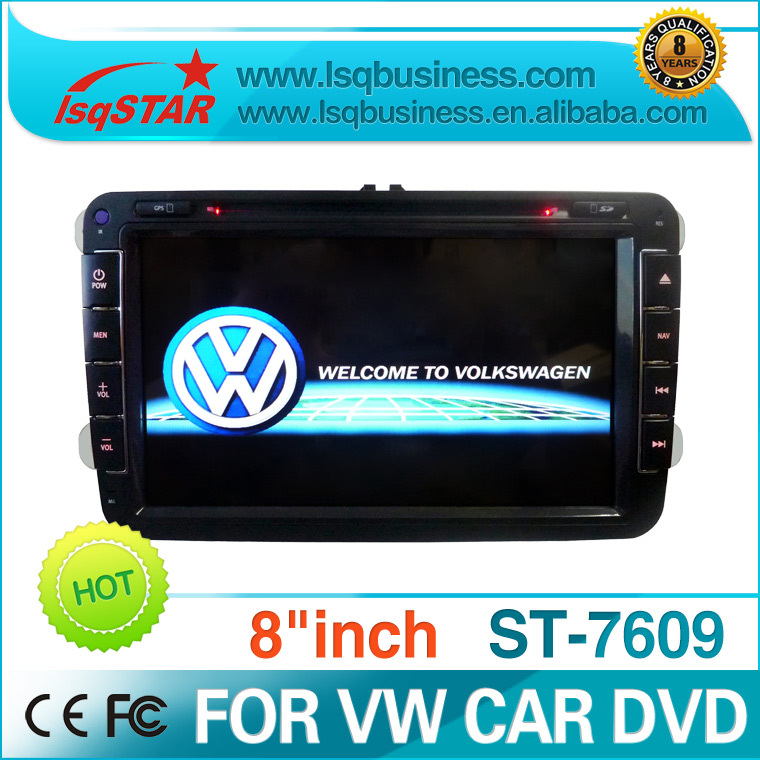 LSQ Star VW GOLF6 /PASSAT CC/Tiguan/JETTA/GOLF5/TIGUAN/EOS TSI car dvd player gps With 3G,BT,Free shipping&amp;Free 4GB GPS IGO Map(China (Mainland))