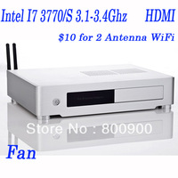 4G RAM,500G HDD, minipc mini desktop with i7 Intel I7 3770/S 3.1-3.4Ghz 22nm mini pcs with WIN 7